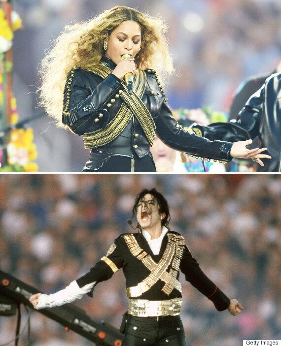 Beyonce's Super Bowl Nod To The King Of Pop Michael
