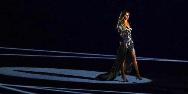 Gisele has wowed the audience at the Rio opening