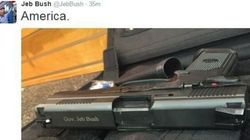 Jeb Bush Shredded Online After Weird Gun