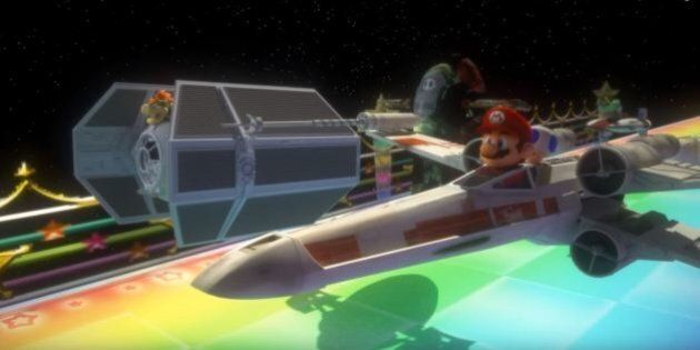 Star Wars Meets Mario Kart In Collaboration Your Inner Nerd