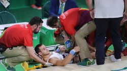 An Olympic Gymnast Broke His Leg In The Most Stomach-Churning