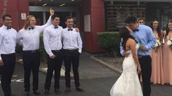 This Groom Loves KFC So Much He Took His New Bride For A