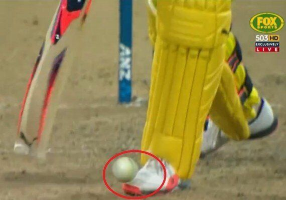 Australia v New Zealand ODI: Mitchell Marsh Hit The Ball Into His Shoe And The Crowd Basically Gave Him