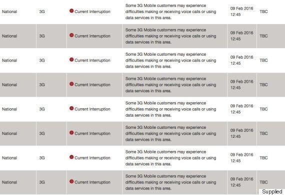 Telstra Struck By Mass Phone, Internet