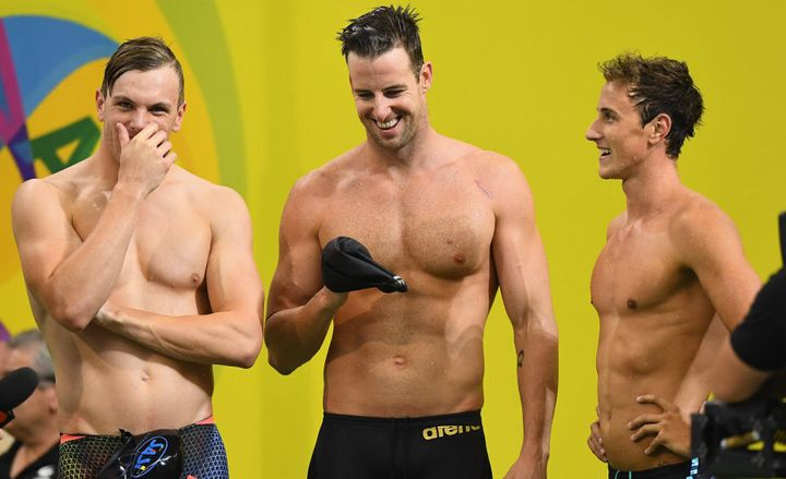 Chalmers, Magnussen and McEvoy are the cream of the relay swimmers.