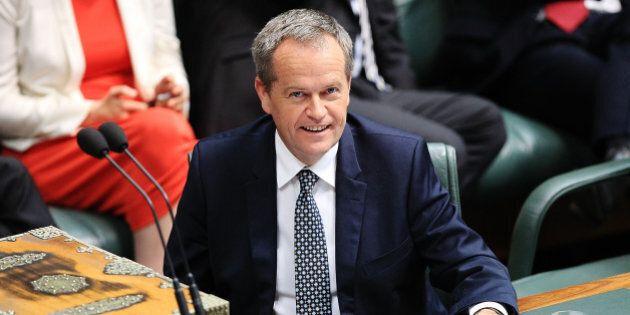CANBERRA, AUSTRALIA - DECEMBER 03: Leader of the Opposition Bill Shorten during House of Representatives...