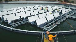 The Aussie Floating Solar Farm To Alleviate California's