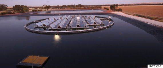 Floating Solar Panel System Changes The Energy Game For Communities Affected By