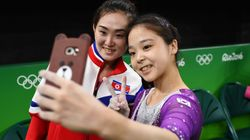 Gymnasts From North And South Korea Just Took A Selfie