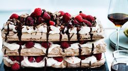 Make This Mouth Watering Chocolate Raspberry Meringue
