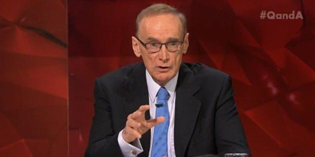 Bob Carr said Trump is dominated by