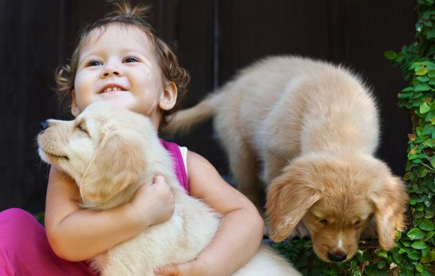 They might be besties, but kids and animals need to be taught boundaries, too.