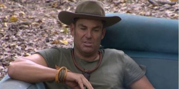 Shane Warne Sooks About Steve Waugh On I'm A Celebrity Get Me Out Of