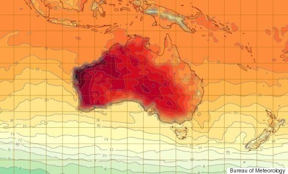 Perth Heatwave: Temperatures Could Top 40 For Five Consecutive