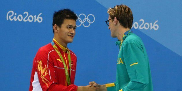 The controversy was started when Australian swimmer Mack Horton referred China's Sun Yang a 'drug