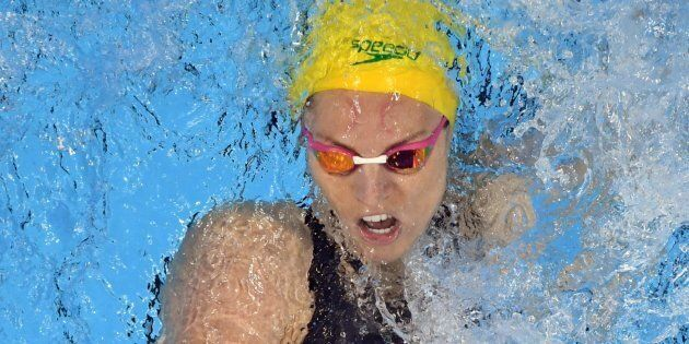 Missing out: Emily Seebohm finishes