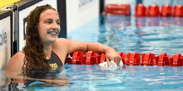 It was Katinka who swam the race, not her