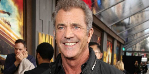 Mel Gibson seen at the Warner Bros. premiere