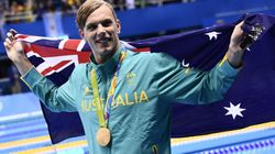 Olympic 100m Freestyle Gold Medallist Kyle Chalmers To Have Heart
