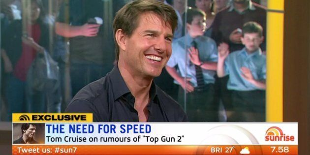 Tom Cruise Confirmed 'Top Gun 2' Could Start Filming Within A Next