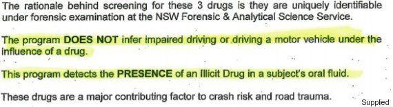 Hazy Drug Driving Advice On Australian Roads | HuffPost