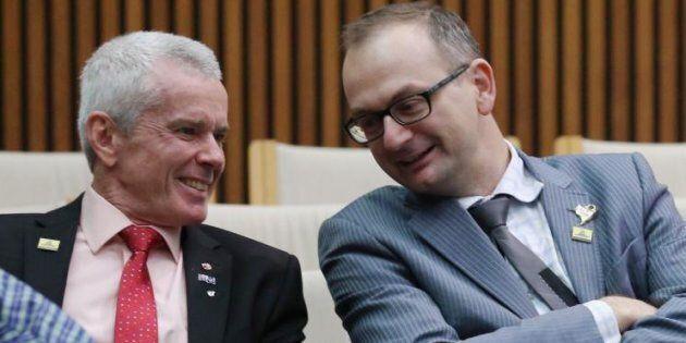 Senator Malcolm Roberts says adviser Sean Black is