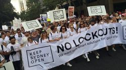 Thousands Hit Sydney Streets To Protest Lockout