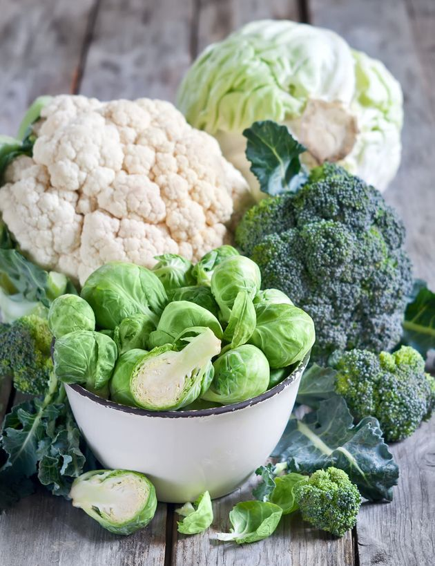 Cruciferous veggies like brussels sprouts and broccoli can cause bloating and excess gas for some