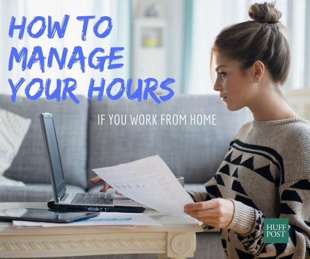 In Charge Of Your Own Hours? Here's How To Make Them