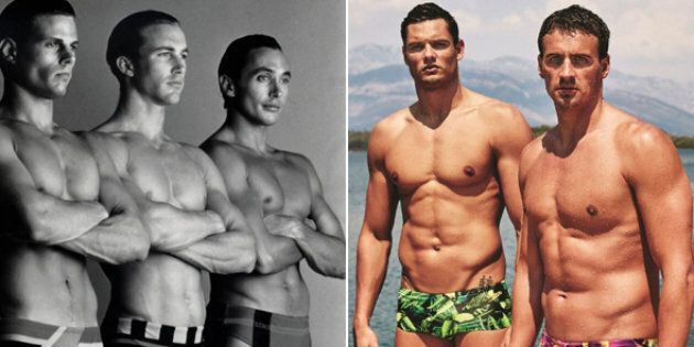 Men's Speedos Through The Years Got Bigger, Then Much, Much