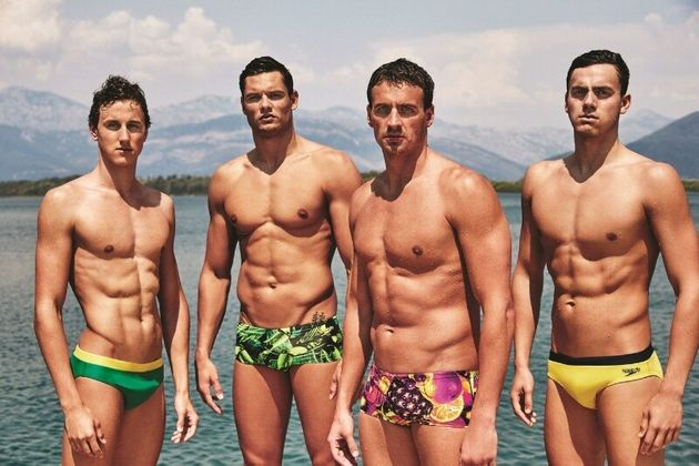 Speedos International's latest launch of men's swimwear is