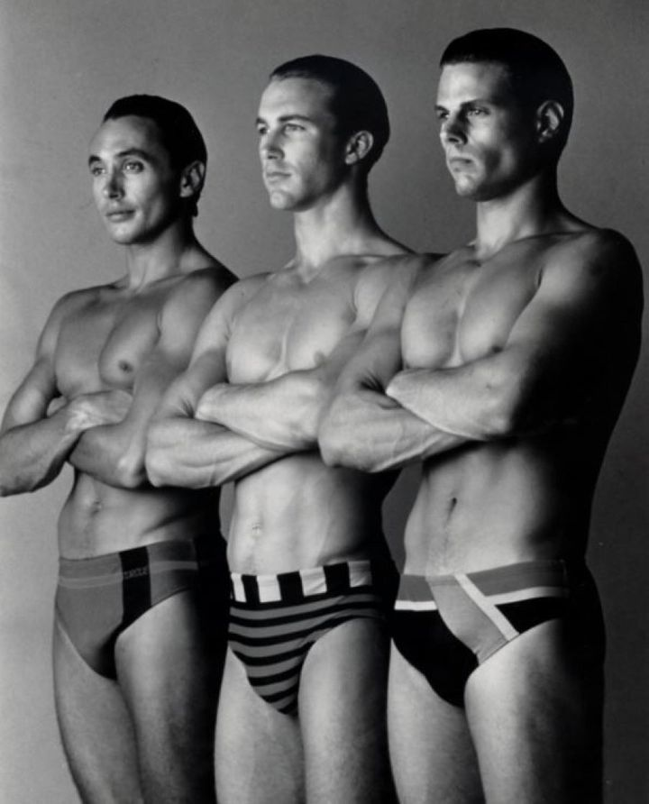 In the 1980s, these swimmers were called 'Hi-Tech Speedos'.