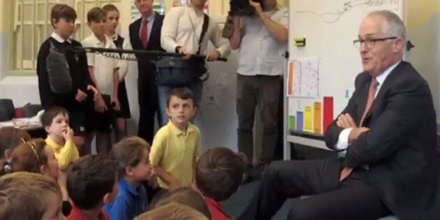 Malcolm Turnbull Did A Q&A With Schoolkids And It Was