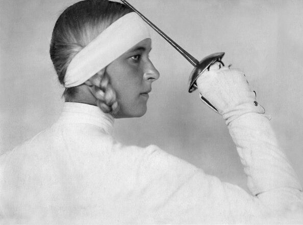 Helene Mayer is still regarded as the world's greatest female fencing champion.