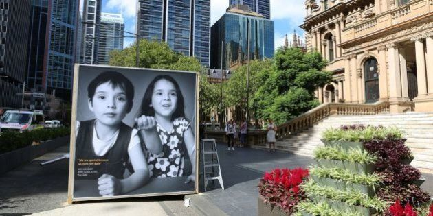 'Gayby Baby' Photographic Installation Displayed Outside Sydney Town