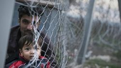 Scenes Of Desperation As Afghan Refugees Are Stuck Outside Macedonia's