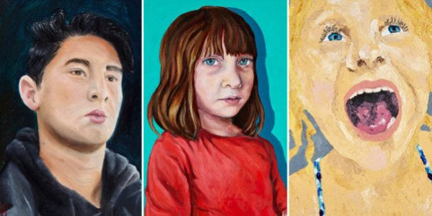 Young Archies Portrait Winners From Age 7 Up Show Talent Beyond Their