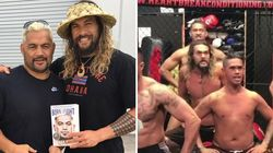 Watch Jason Momoa Perform The Haka For UFC Fighter Mark