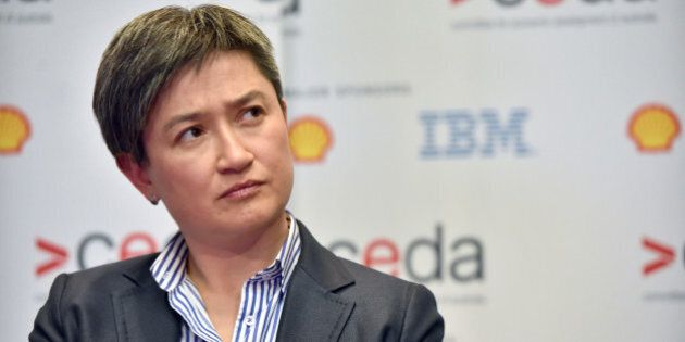 Penny Wong, Senate leader of Australia's opposition Labor Party, attends the State of the Nation conference...