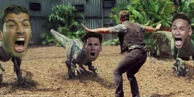 Barcelona Beat Arsenal 2-0 In Champions League, As Predicted By Weird Dinosaur