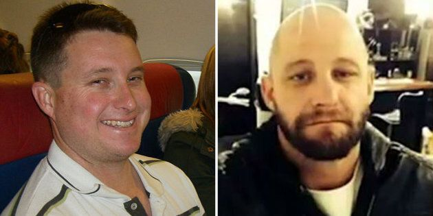 Senior Constable Brett Forte (left) was shot dead by Rick Charles Maddison, 40 (right) during a traffic...