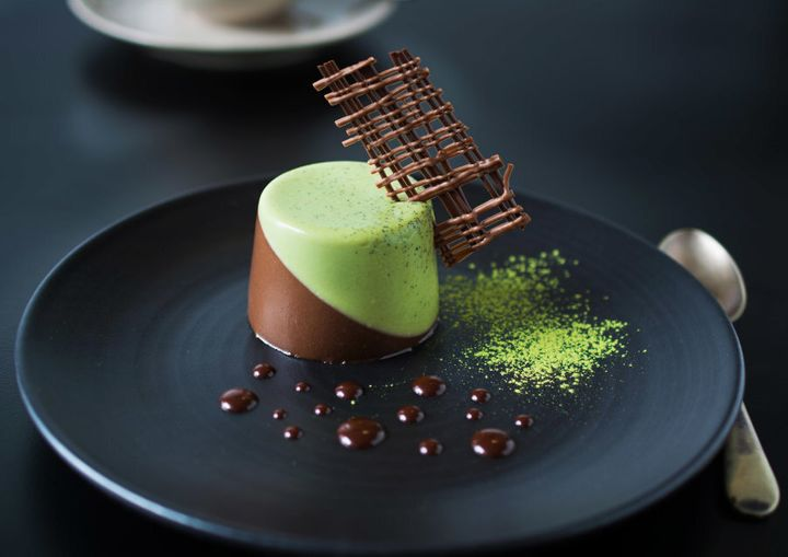 Japanese matcha might be on trend at the moment but it actually pairs amazingly well with chocolate, thanks to its earthy, slightly bitter and complex flavour.