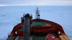 Icebreaker Aurora Australis Has Run Aground In Antarctica, Trapping 67