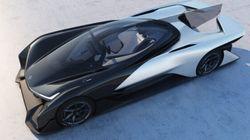 Faraday Future's 1,000-Horsepower Concept Car Is Unbelievably