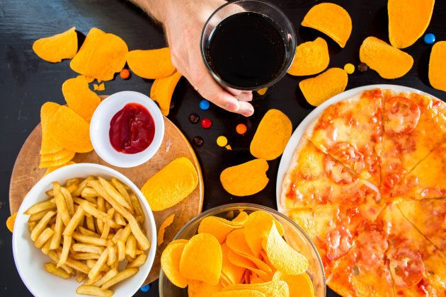 A junk food diet starves the good bacteria in your gut, resulting in less bacterial