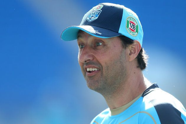 Ya reckon??? NSW Blues coach Laurie Daley looks like he's not sold on Ant's