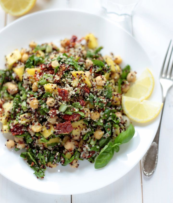 Quinoa is a nutty, filling addition to salads.
