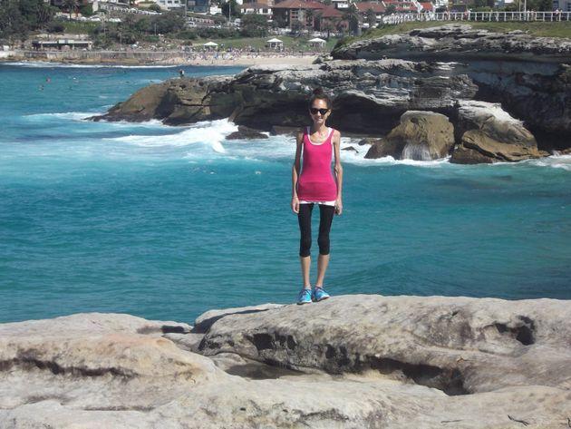 Millie in Sydney, April