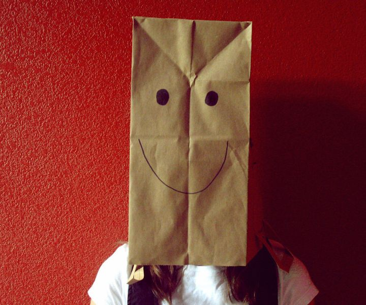 Resorting to wearing a paper bag over your head is an extreme measure and, to be honest, not one we necessarily recommend.