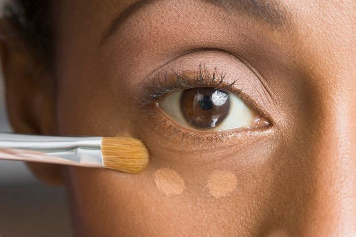 If you're prone to acne, you might want to double-check your preferred brand of makeup doesn't contain oil.